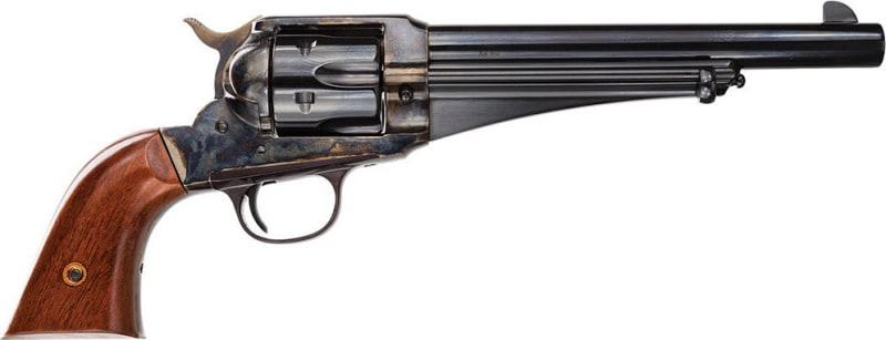 "Taylors&Co 0151 1875 Army Outlaw 45LC 7.5"" 6rd Walnut Grip Blued w/CH Frame"