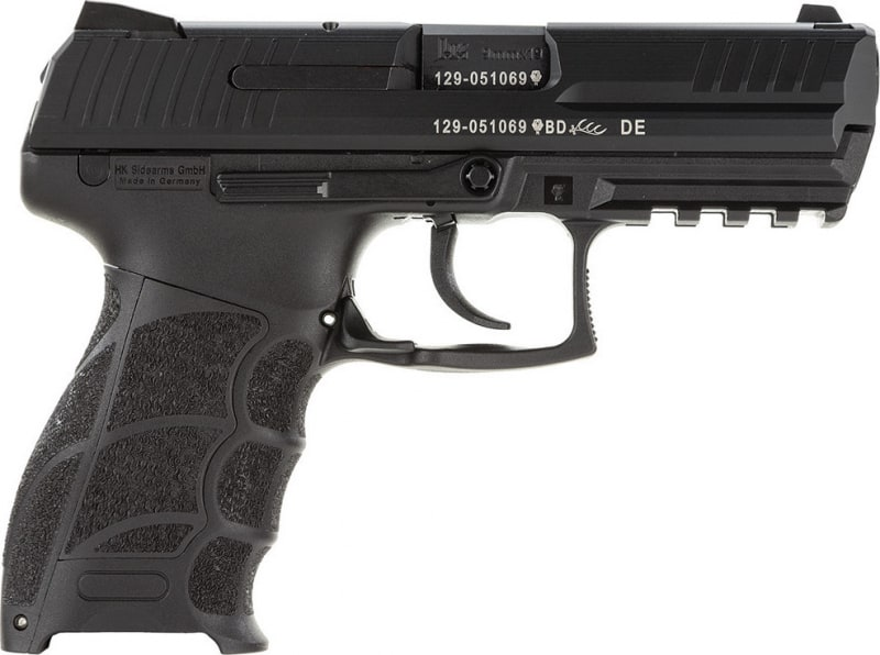 "HK 730901A5 P30 LEM 9mm 10+1 3.9"" NMS Black Grip Black Slide"