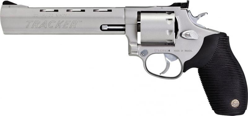 "Taurus 2992069 Model 992 Tracker 22 LR/22 Mag 6.5"" 9rd Black Grip Stainless"