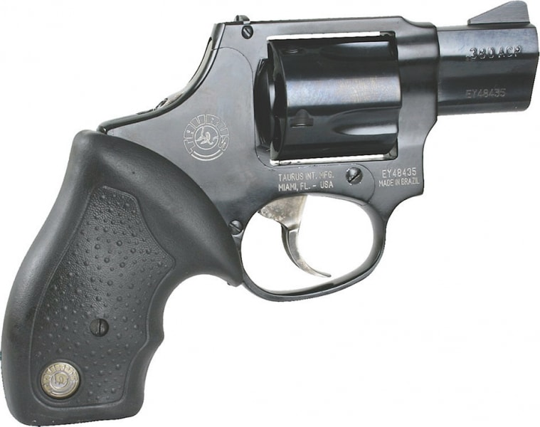 "Taurus 2380121UL Model 380 Mini Revolver 380 ACP 1.75"" 5rd Rubber Grip Blued"
