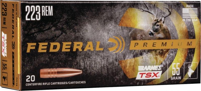 Federal P223S 223 55 BRN TSX - 20rd Box