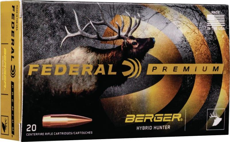 Federal P65CRDBCH1 6.5 Creedmoor 135 Berger - 20rd Box