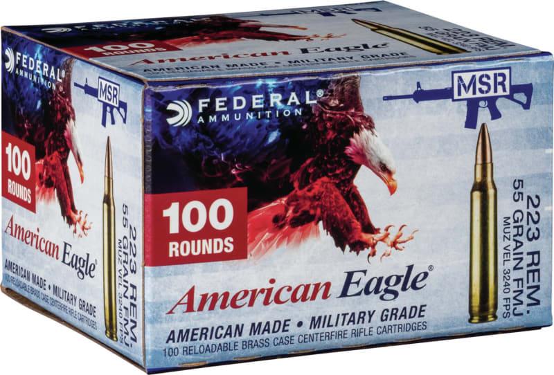 Federal AE223BLF 223 55 FMJ *ANOKA* - 100rd Box