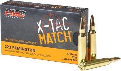 PMC 223XM .223 Remington 77 OTM Match - 20rd Box