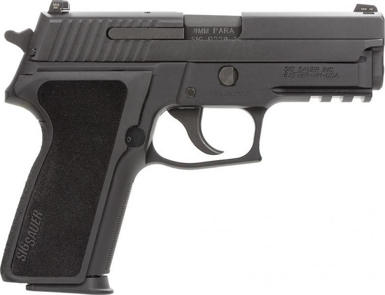 "Sig Sauer 229RM9BSS P229 *MA Compliant* DA/SA 9mm 3.9"" 10+1 Poly Grip Black"
