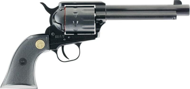 "Chiappa CF340.160D 1873 Single Action Army 22LR/22Magazine Single 22 LR 5.5"" 10rd Black Synthetic Black"