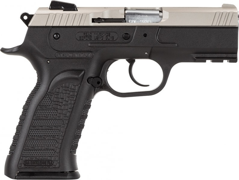 "EAA 600246 Witness Polymer Carry DA/SA 9mm 3.6"" 17+1 Black Synthetic Grip SS"