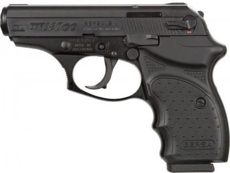 "Bersa T380MCCCT Thunder 380 DA/SA 380 ACP 3.5"" 8+1 Black Synthetic/Crimson Trace Laser Grip Black"
