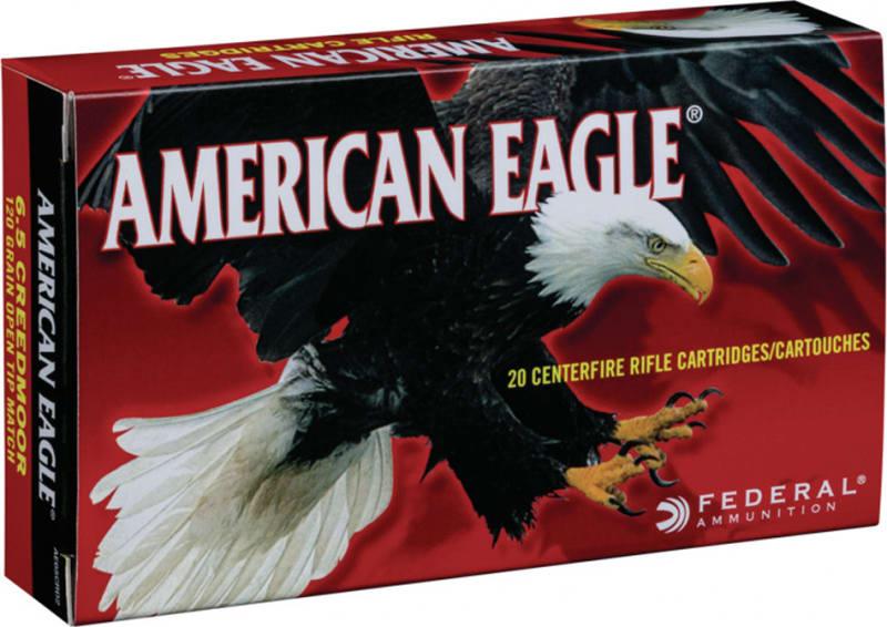 Federal AE65CRD2AC1 6.5 Creedmoor 120 OTM - 100rd Case