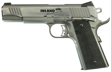 "MKS 1911 Custom Carry 45 ACP Pistol, 5"" Stainless Steel Novak 7rd - ILM1911TC"