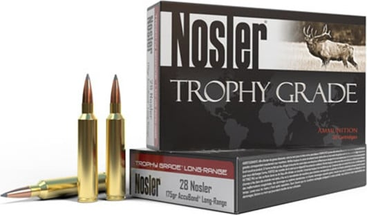 NOS 60105 Trophy 6.5 Creedmoor 142 ACU LR - 20rd Box