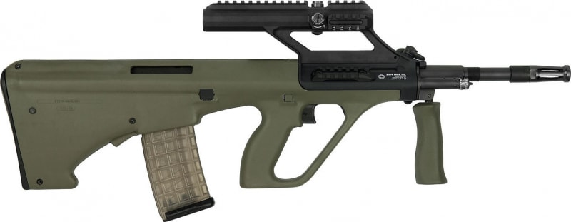 "Steyr AUGM1GRNO3 AUG A3 M1 (3X Optic) Semi-Auto .223/5.56 NATO 16"" 30+1 Synthetic Green Stock"