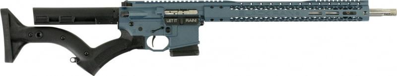 """Black Rain BROCOMP3GBLUTI16NY Black Rain OrdnanceCompetition G3 *NY Compliant* Semi-Auto .223/5.56 NATO 16"""" 10+1 Thordsen Blue Titanium Cerakote"""