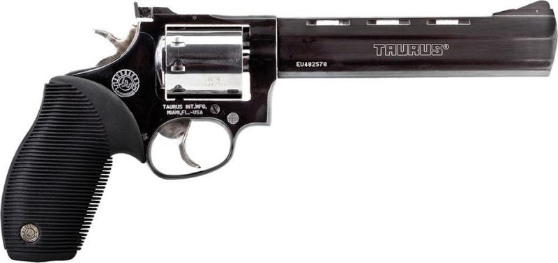 "Taurus 2992061 Model 992 Tracker 22 LR/22 Mag 6.5"" 9rd Black Grip Blued Finish"