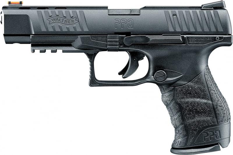 "Walther 5100305 PPQ M2 .22 22 LR 5"" 10+1 FO Black Poly Grip Black Finish"