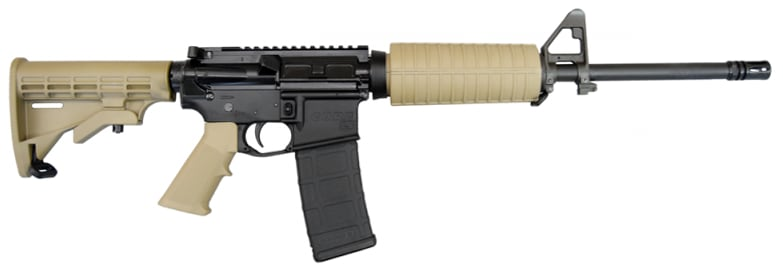 "Core 15 Scout AR-15 Rifle, .223 / 5.56, 16"" Barrel - FDE Furniture - 11987"