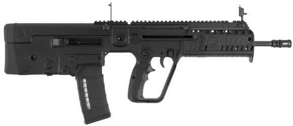 "IWI XB18 Tavor X95 Semi-Auto .223/5.56 NATO 18.5"" 30+1 Polymer Bullpup Black"