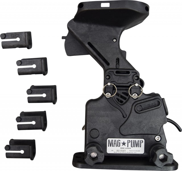 MagPump Magazine Loader Compatible for 9mm - Multi Pistol Compatible