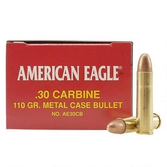 Federal AE30CB American Eagle 30 Carbine 110  GR Full Metal Jacket - 50rd Box
