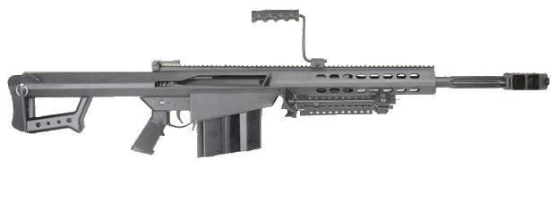 "Barrett 82A1-CQ 50 BMG w/ 20"" Fluted Barrel Black - 13318"