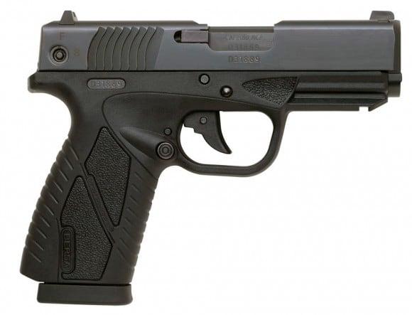 Bersa BP380MCC .380 ACP Concealed Carry 8+1 - Black
