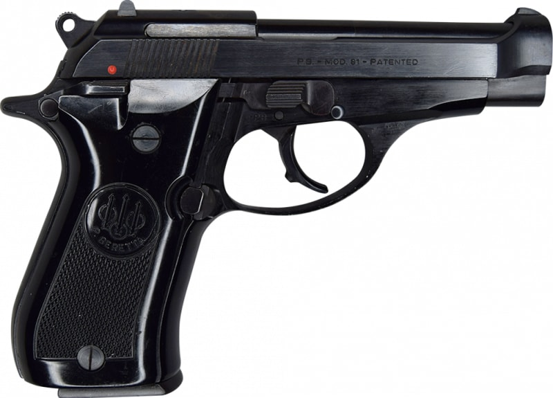 Beretta Model 81 Pistol - Semi-Auto - 12 Round, .32 ACP - Italian Made - Cheetah Series -  Law Enforcement Trade In  - Good To Very Good Surplus Condition