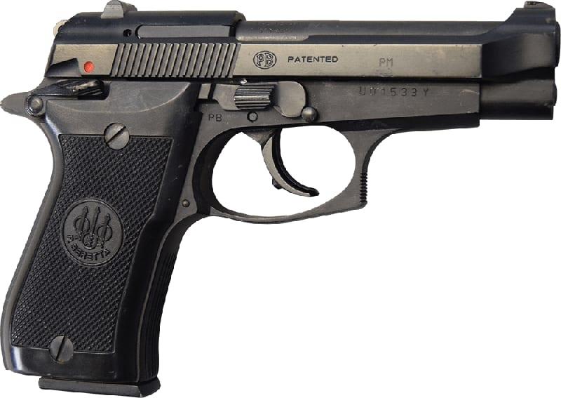Beretta 85F .380 ACP 8rd Capacity Pistol - LEO Trade-in Very Good Condition - BER85F