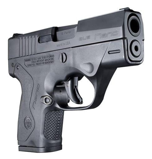 Beretta Nano 9mm Ultra Sub Compact Pocket Pistol S/A JMN9S15