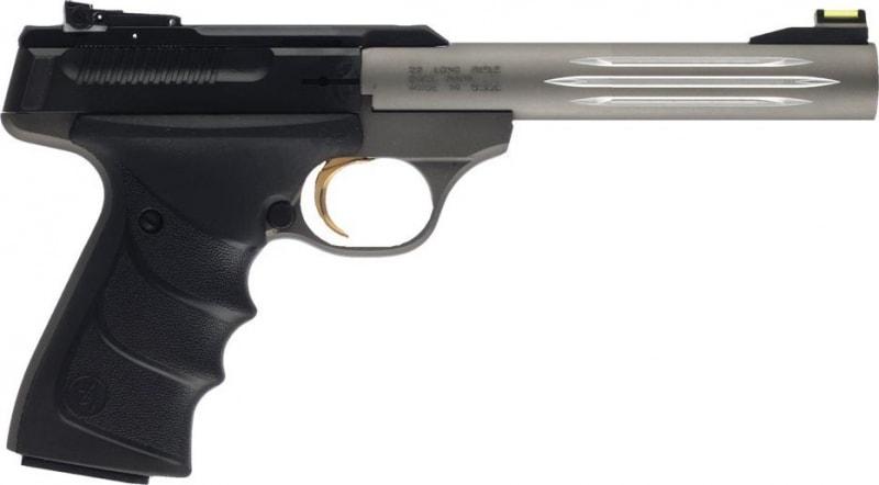 Browning Buck Mark Lite URX *CA Compliant* 22LR Pistol, 5.5in Barrel 10+1 Capacity Ultragrip RX Black/Gray - 051461490