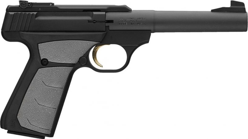 Browning Buck Mark Camper 22LR Pistol, 10rd Adjustable Sights UFX - Black Rain Ordnance051498490