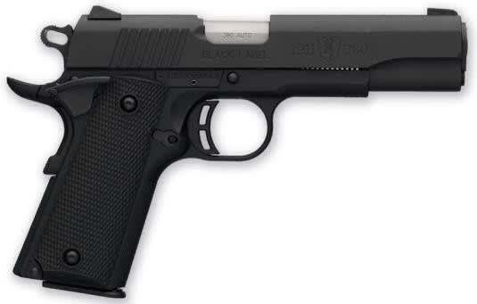 Browning 1911- .380 ACP Pistol, Black Label - Black Rain Ordnance051904492