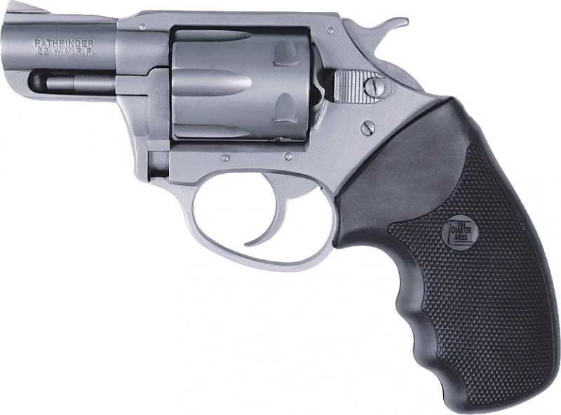 "Charter Arms Pathfinder .22 Magnum Revolver, 2"" Stainless Steel - 72324"
