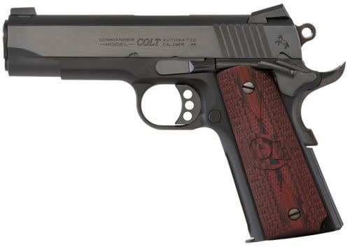 "Colt Lightweight Commander 45 ACP Pistol, 4.25"" 9rd Blued - CLT O4840XE"