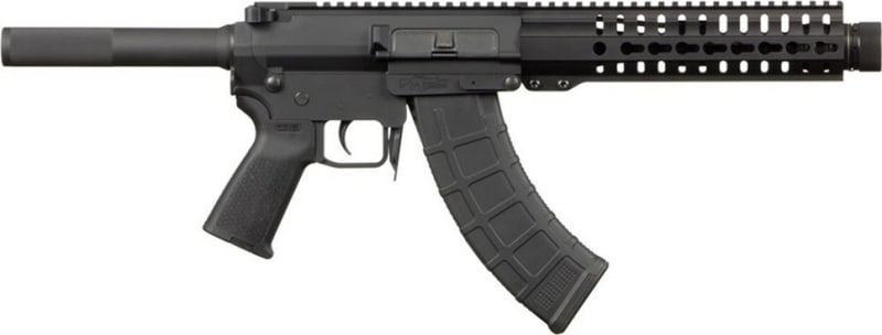 CMMG Mk-47 AKS8 Mutant Pistol w/Krink Muzzle Device, 7.62x39, Semi-Auto, Model #76AE87C