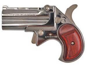 Cobra Derringer Big Bore 9mm Over/Under Chrome/Rosewood CB9CR