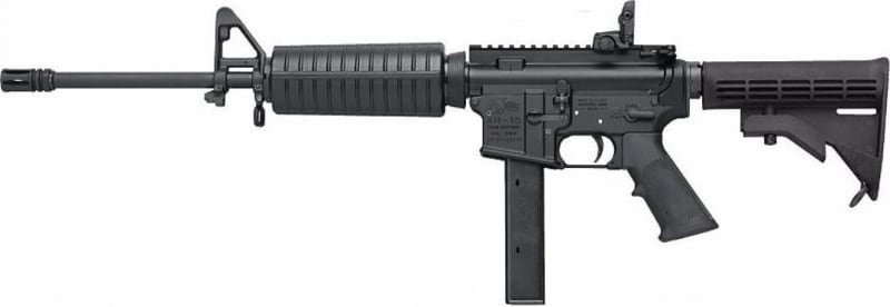 "Colt AR15 Carbine 9mm Rifle, 16"" 32rd Synthetic - AR6951"