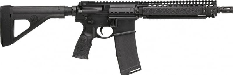 "Daniel Defense 02-088-01202 DDM4 MK18 AR15 Pistol w/ Brace, 5.56 NATO 10.3"" Barrel 30rd Black"