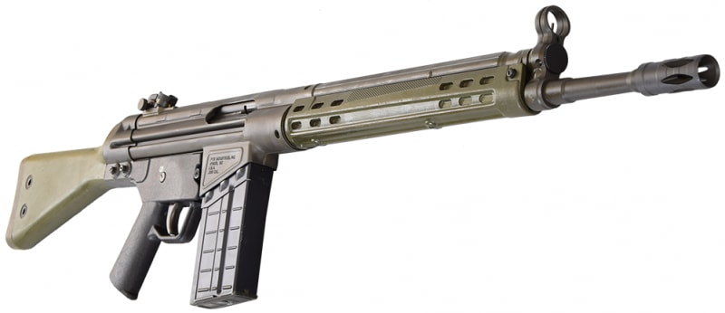 PTR 91 GI, .308 Caliber Semi-Auto Rifle, Roller Lock Action - PTR-100