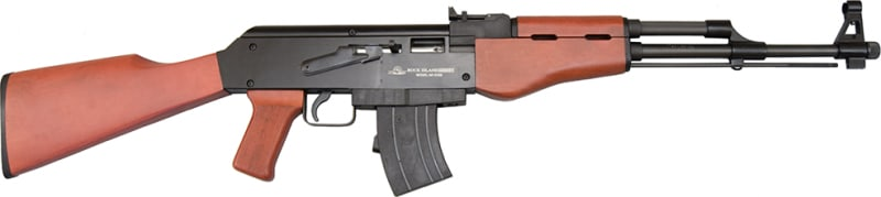 Rock Island Armory 51121 AK-22 Rifle .22 LR 18.25in 10rd Blued Wood RI2133E-N