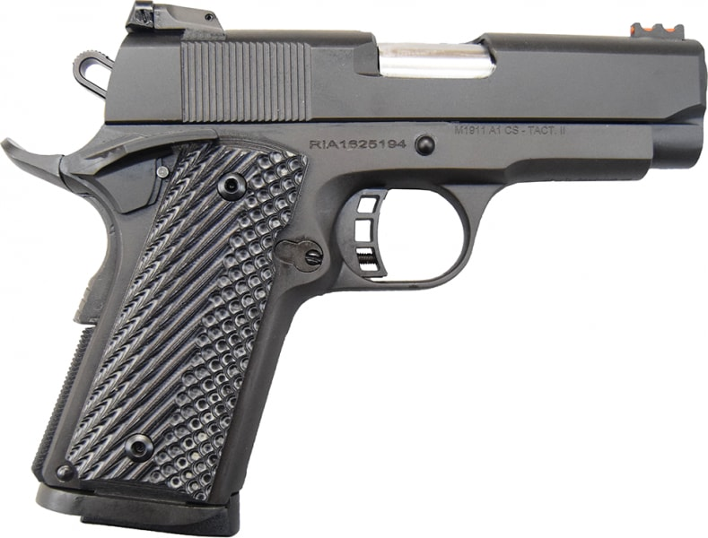 Rock Island Armory M1911 A1 CS Tactical II Pistol .45 ACP 3.5in 7rd Parkerized - Model # 51479