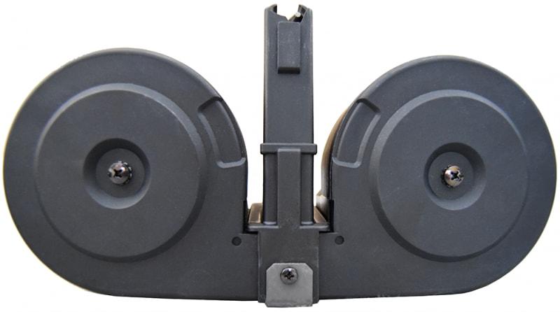 Ruger Mini 14 - 100 Round Dual Drum Magazine .223/5.56