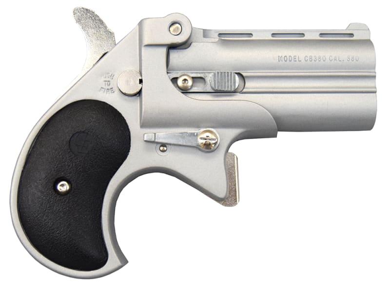 Cobra Derringer Big Bore .380 ACP Caliber Over/Under Satin/Black #CB380SB