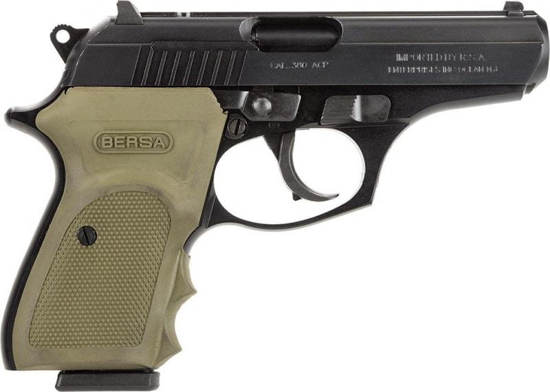 "Bersa Thunder 380 ACP Pistol, 3.5"" 8rd Combat Matte - EI T380MC"