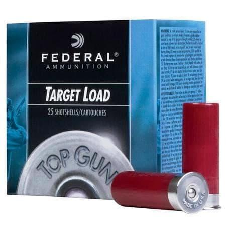 "Federal 12GA 2-3/4"" Target Load Ammo - 25rd Box"