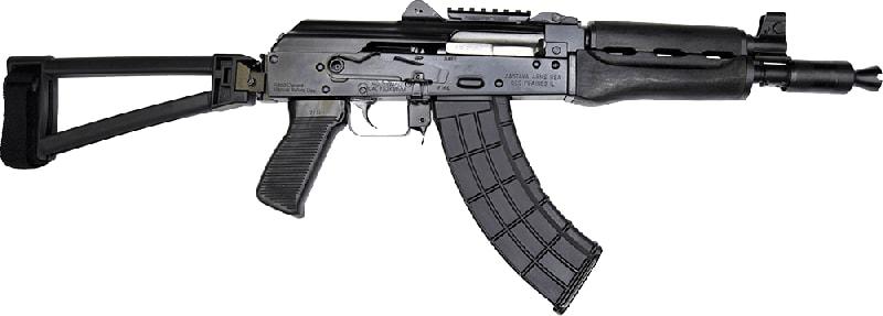 "Zastava Arms ZPAP92 Alpha AK-47 Pistol 7.62X39 30rd 10"" Barrel W/ TF1913 Folding Triangle Brace"
