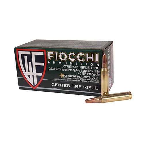 Fiocchi 223FRANG 223 45 GRFrangible Ammo - 50rd Box