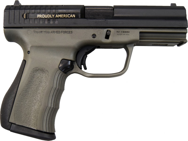 FMK 9C1 G2 9mm Pistol - OD Green - 14+1rd Capacity