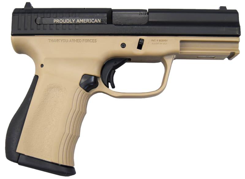 FMK 9C1 G2 9mm Pistol - Desert Earth - 14+1 Capacity - FMKG9C1G2DE