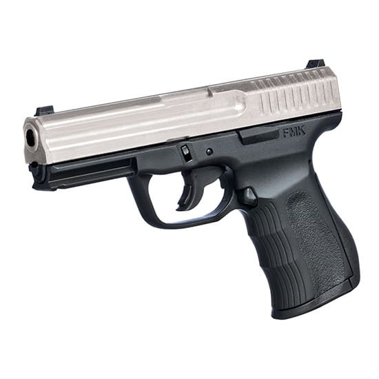 FMK 9C1 G2 9mm Pistol - Matte Silver Slide Black Polymer Frame, (2) 14 Round magazines - FMKG9C1G2SS