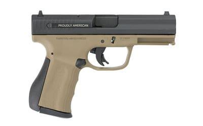 FMK 9C1 G2 9mm Pistol - Burnt Bronze Polymer Frame, (2) 14 Round magazines - FMKG9C1G2BRT